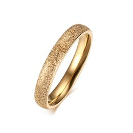 Wholesale Choice Color Rose - ORSA 316L Stainless Steel Rings 3 Color Gold Rose Gold Platinum Plated for Choice Friendship Wedding Band Jewelry OTR97