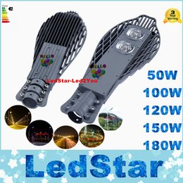 Wholesale CE ROHS UL CAS Led Gardern Road Lamp AC V IP65 Waterproof Bridgelux COB LED Chip Led Street Light By DHL