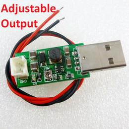 Wholesale 9v Motors - 7W USB DC 5V to 6V 9V 12V 15V Adjustable Output DC DC Converter Step Up Boost Module for LED Motor fan