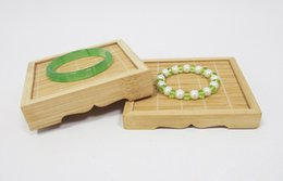 Stand di tè online-Brand New Jewelry Display Smart Bamboo Stand gioielli Bracciale in giada Stand Tea Show Stand Rack
