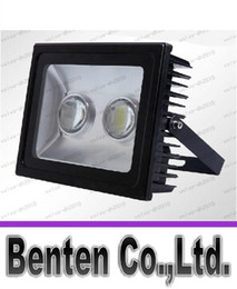 Wholesale Power Led Lens - 100w high power flood light tunnel light Square plaza lamp with lens waterproof IP65 bridgelux45mil 2x50w DHL free shipping LLFA