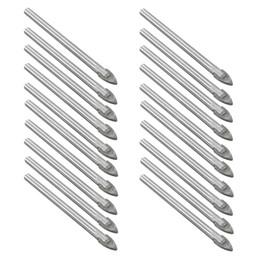 Wholesale Tungsten Carbide Tile Bits - 20pcs 6mm Tungsten Carbide Drill Bit Glass Tile China Ceramic Cake Stand Handles