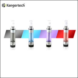 Wholesale Kangertech Mini T3s - kanger T3S Clearomizer Kangertech T3S Atomizer eGo 510 Thread Huge Vapor VS Kanger Mini Protank Evod 2 Evod Glass Aerotank Mini