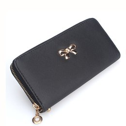 Wholesale Casual Leather Lady Bags Wholesale - 2017 wholesale Fashion Lady Women Clutch PU Leather Long Wallet Card Holder Purse Handbag Bag wallets