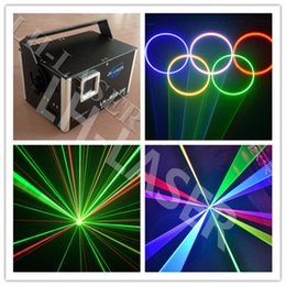 Wholesale Laser Show System Mini - Mini 2W RGB full color laser light With SD Card animation TTL modulation laser show system (free I show inside )