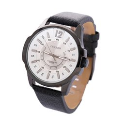 Wholesale 8123 Curren - Watches men luxury brand The new 2016 CURREN 8123 counters authentic CURREN really belt men watch with calendar wholesale male casual watch