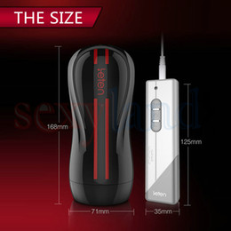 Wholesale Hands Free Sex Toy - Leten Fantasy 3 Electric Hip Dual Engine 10 Modes Vibration Male Hands Free Masturbator w  Strong Sucker, Adult Sex Toys for Men