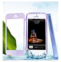Wholesale Iphone 5c Slim Rubber Case - Slim Transparent Clear Crystal Soft Silicone TPU Rubber Case Flip Cover Skin For iPhone 6 6 Plus 5 5G 5S 4 4S 5C Galaxy S4 S5 NOTE3 NOTE4