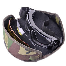 Wholesale Hunting Sunglasses - Military Tactical Goggle Airsoft Glasses Outdoor Eyewear Sports Paintball Sunglasses Shooting Hunting Eyewear