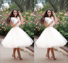 Wholesale Chiffon Khaki Skirt - Knee-Length Tulle Tutu Skirts 2016 Spring White Women Vintage Skirts Cheap Fashion Summer Shirts for Women Princess Lady
