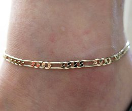 Wholesale Trendy High Fashion Jewelry - European And American Trade Fashion anklet for women Simple Wild Section Of High-quality Metal Chain Called Naked Lady Anklet Jewelry Chain