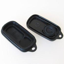 Couvercle pour clé de voiture toyota en Ligne-3 boutons de remplacement clé de voiture sans clé Shell Flip Fob à distance Clicker Pad clé Case Cover réparation pour Toyota HYQ1512Y 4Runner Sequoia