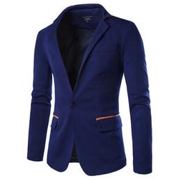 be0caf304a0ef Envío al por mayor-Libre larga para hombre de la chaqueta del juego del  otoño y del invierno capa ocasional de desgaste Blazer para el hombre