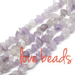 "Wholesale 8mm Green Jade Beads - Purple Jade Chips Beads Fashion Jewelry Beads Gravel wholesale Diy Bracelet Strand 33"" 5-8mm Freeform (F00295) wholesale"
