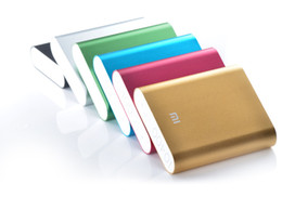Wholesale Tablet Pc External Battery Chargers - Xiaomi power bank 10400mAh portable power bank external battery emergency battery for mobile phone tablet pc ipad 06