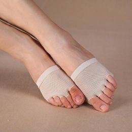Wholesale Leather Shoes Nude Colour - Wholesale 10 Pairs  Lot Foot Thong , toe undies, dance paws, half lyrical shoe nude colour