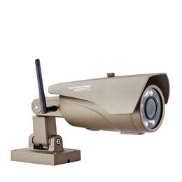 Wholesale Camera Ip Pt Ir Alarm - Wireless outdoor WiFi IR Cut IP Camera 720P HD 1MP CMOS Security CCTV IP Camera Alarm PT For wifi and GSM sms alarm system