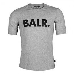 Wholesale B Letters - BR01 B&W fashion summer style BALRED t shirt balr t-shirt men short sleeve NL luxury brand clothin round bottom long back