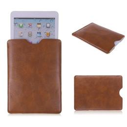 Wholesale Soft Leather Ipad Cover - Wholesale Carry Case for iPad Pro 9.7 inch ipad mini ipad 2 3 4 5 soft PU leather Cover Tablet Case for 8 9 10 inch Tablet