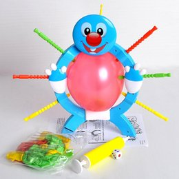 Wholesale Games Crazy - Boom Boom Balloon Poking Game Don't Blow It Crazy Party Game Booming Balloon Adults Family Fun Toys Popular Board Games Kids Gift