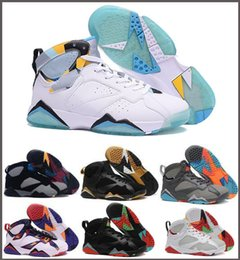 Wholesale Shoes Real Leather For Woman - Retro 7 Basketball Shoes For Men and Women Authentic Trainer Sneakers Real Replica Zapatos Mujer Homme Dan Retros Shoe 7s VII