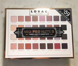 2019 paleta mega lorac Paleta Lorac Mega Pro 3 Paleta Limited Edition Eyeshadow 32 Shades Vs ShimmerMatte Paleta Sombra paleta mega lorac barato