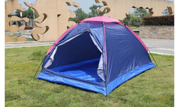 Wholesale Field Factory - Factory wholesale supply folding water-proof tendon double tent outdoor beach dew camping tourism disaster