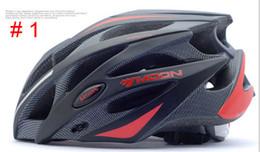 Wholesale Moon Bicycle Helmet - Wholesale-MOON Bicycle Helmet Integrally-molded Cycling Helmet Ultralight Outdoor Sports MTB Road Mountain CE Certification Bike Helmet