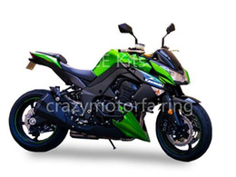 Wholesale Plastic Kit Motorcycle - kawasaki Z1000 2010 2011 2012 2013 Injection Moiding ABS Plastic motorcycle Fairing Kit Bodywork Z1000 10 - 13 Green Black