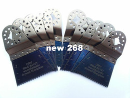 Wholesale Wholesale Oscillating Tool Blades - Japan Tooth Saw Blade CR-V with clear guide ruler for tch bosch oscillating tools for wood plastic pipe and soft metal
