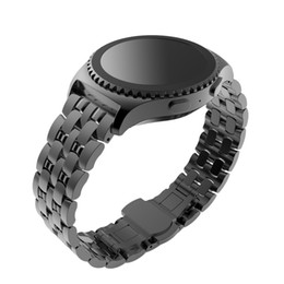 Wholesale Metal Gear Watch - Wholesale-2016 luxury Design Super Quality Stainless Steel Watch Band Strap Metal Clasp For Samsung Galaxy Gear S2 Classic SM-R732 Willtoo