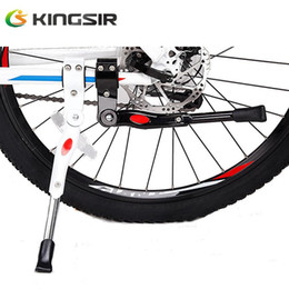 Wholesale Aluminum Alloy Rack For Bike - Wholesale-Direct Selling 2016 Stand For Bicycle Rack Made Of Aluminum Alloy Cycling Kickstand Mountain Bike Accessories