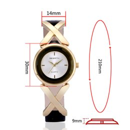 Wholesale V6 Watches Wholesale - REBIRTH V6 RE007 Libofu spot exquisite leather waterproof female Bracelet Watch