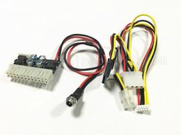 Commutateur psu en Ligne-Freeshipping DHL DC 12 V 160 W 24 Ppin Pico ATX Commutateur PSU Voiture Auto Mini ITX Haute Alimentation Module D'alimentation 24 p 50 ~ 100 pcs