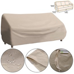 Wholesale Waterproof High Back Patio Three seats Sofa Cover Outdoor Furniture Protection