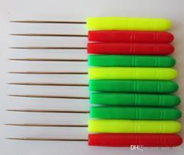 2019 bohren führen Nähen Nadelspitze Nadelfaden nehmen Sie die Führungsnadel Loch gebohrt durch tausend Hand Nähen Ahle DIY Tools / Positionierung Bohrer günstig bohren führen