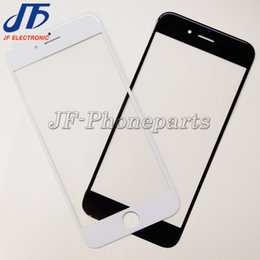 Wholesale New Iphone Glass Screen - 10pcs lot NEW Replacement LCD Front Touch Screen Glass Outer Lens for iphone 5 5c 5s 6 6s plus 7 plus Free Shipping