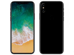 Wholesale Smartphone Metal Body - Best goophone X i8 smartphone 5.5inch MTK6582 Quad Core 2GB RAM 16GB ROM Metal body 3G WCDMA Fake 4g lte unlocked cell phone
