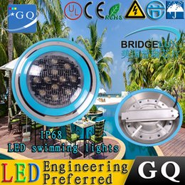 Wholesale Pool Led Light Underwater - 6w9w12w18w27W 36W 45w led swimming pool light IP68 12V Outdoor Lighting RGB led Underwater Lighting pond led piscina luz