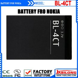 Wholesale Bl 4ct Battery - obile cassette Low Price BL-4CT Full Capacity 860mAh Mobile Rechargeable Battery for NOKIA  2720F 3720 5310XM 5630XM 6600F  6700S 7205 72...