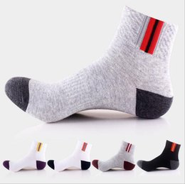 Wholesale Wholesale Elite Sox - Mens Basketball Elite Socks Classic Cotton Sports Sock Fashion Outdoor Sports Athletic Sport Socks skateboard sox For Men