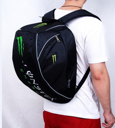 Wholesale moto motorcycle helmets - Outdoor Travel Motorcycle Backpack Helmet Bag Package Oxford Riding Racing Bags Fabric Baggage Moto Luggage Shoulder Pack for Kawasaki