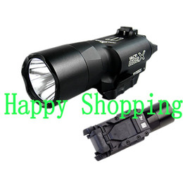 Wholesale Picatinny Green - Tactical X300 X300U Ultra High Output LED 500 Lumens Flashlight Light Picatinny Weaver Universal
