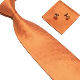 Argentina Unidad de negocios de los hombres Elemento uniforme Rejilla Tie manga de paño de bolsillo de tres piezas 15 colores para elegir Lazos tejidos de Jacquard de la boda Suministro