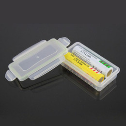 Wholesale Translucent Plastic Box - 18650 Battery Box Waterproof Case Plastic Protective Storage Translucent Battery Holder Storage Box for 16340 Battery ZA4875