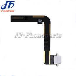 Wholesale Air Plugs For Iphone Free - 10pcs lot Usb Plug Charge Board Replacement For Apple Ipad air 5 Charging Port Connector Flex Cable Free Shipping