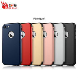Wholesale Cell Phone Armband Clip - Best cell phone covers For iphone 7 7plus 6s 6plus 5S Ultrathin TPU PC 2 in 1 Shockproof Case