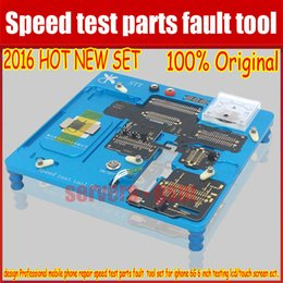 Wholesale Mobile Phones Unlocking Box - 2016newest design Professional mobile phone repair speed test parts fault tool set for iphone 6G 6 inch testing lcd touch screen