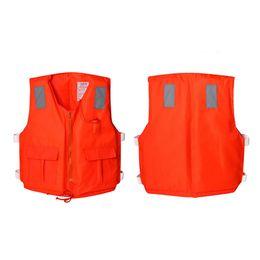 Wholesale Kayak Inflatable - Wholesale- Kayak Life Jacket Swimming Vest Fishing Life Jacket Inflatable Life Vest Man Woman Water Sports Jacket with Orange Foam