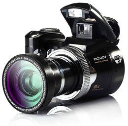 Wholesale Video Points - Polo 16Mp Max Digital Camera Protax DC510T SLR Shape Camera 5MP CMOS 8X Zoom Camera HD 720P Video Li-Battery FREE SHIPPING NEW